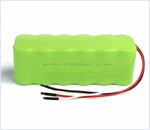 electric battery 14.4v nimh battery pack rechargeable cell from China supplier