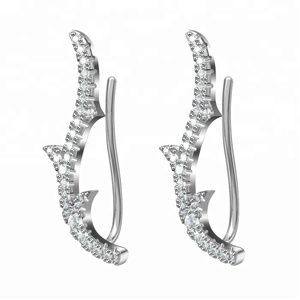 Wholesale Miss Jewelry Crystal Big Earring