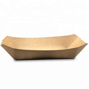 250gs kraft paper with pe coating frozen food tray