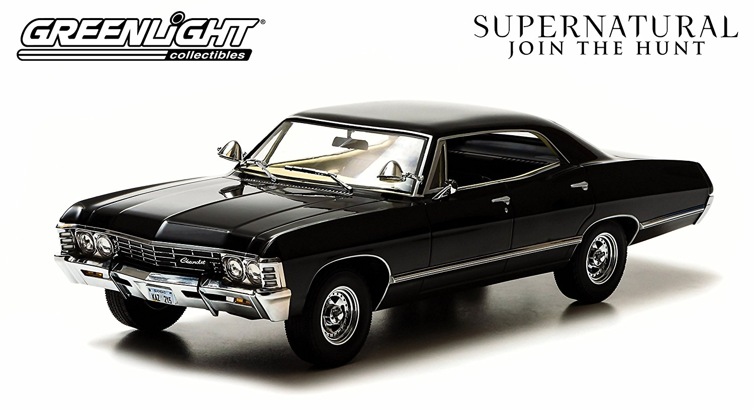 Buy Greenlight Artisan Supernatural Tv Show Chevy Impala Hard Top 1967 1 18 Scale Diecast Model Car Black 19001 Diecast Motorcycles And Cars In Cheap Price On Alibaba Com