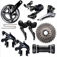 New Dura Ace 9100 11 speed group set for road bike