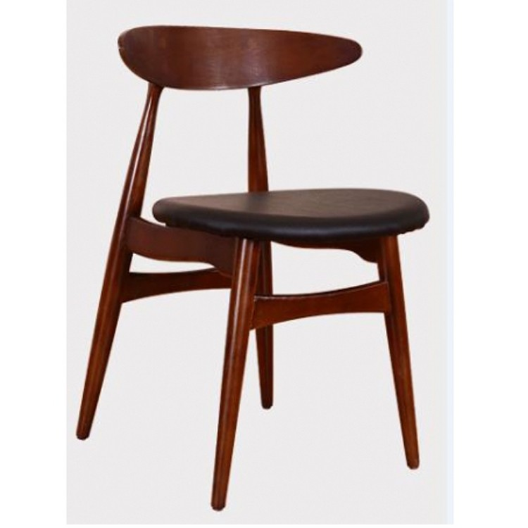 high quanlity wooden dining room chair with pu cushion