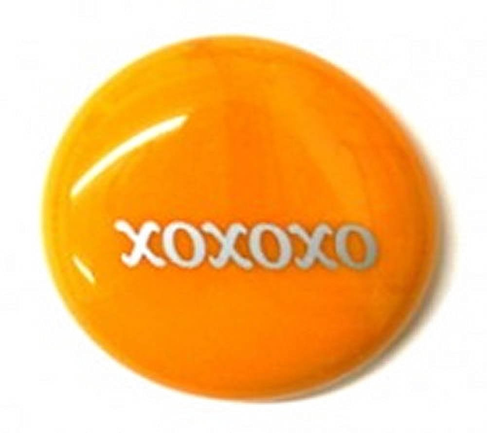 Xoxoxo Colored Glass Imprinted Recovery Sobriety Stones