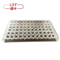 FDA Certificate Custom Polycarbonate Chocolate Molds Plastic Chocolate Mold Chocolate Silicone Mold