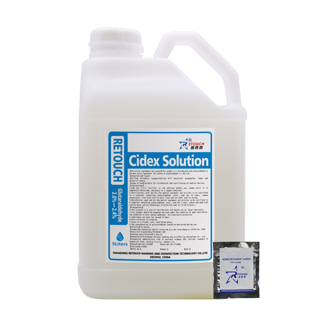 Cidex Solution 2 Glutaraldehyde Medical Device Disinfectant