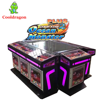 2017 Best Selling Ocean King 2 Free Games Casino Catching Game Machine