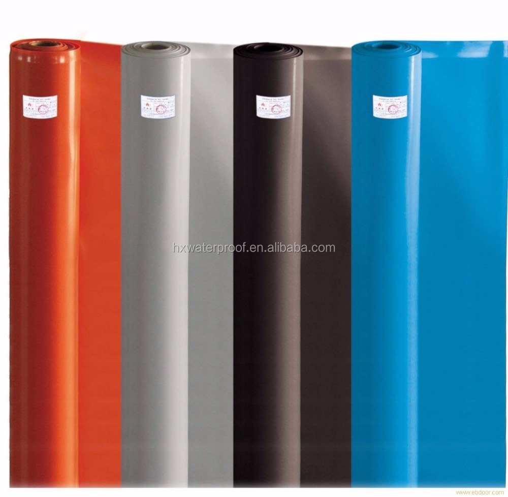 Waterproofing roll pvc roofing material for building