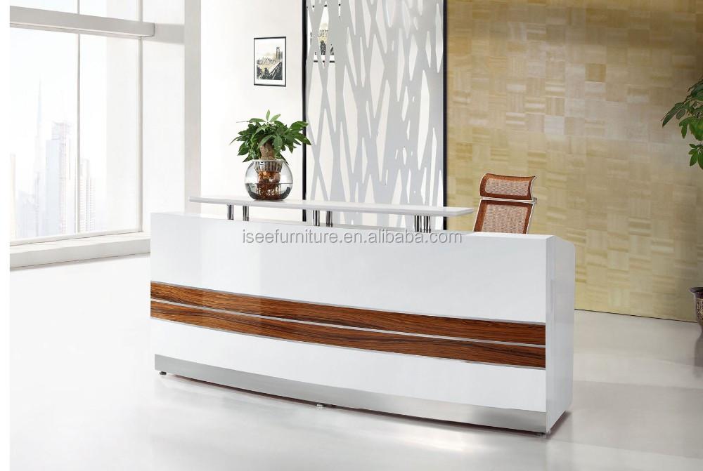Design Ufficio Moderno : Ufficio moderno design curvo ufficio reception tabella contatore