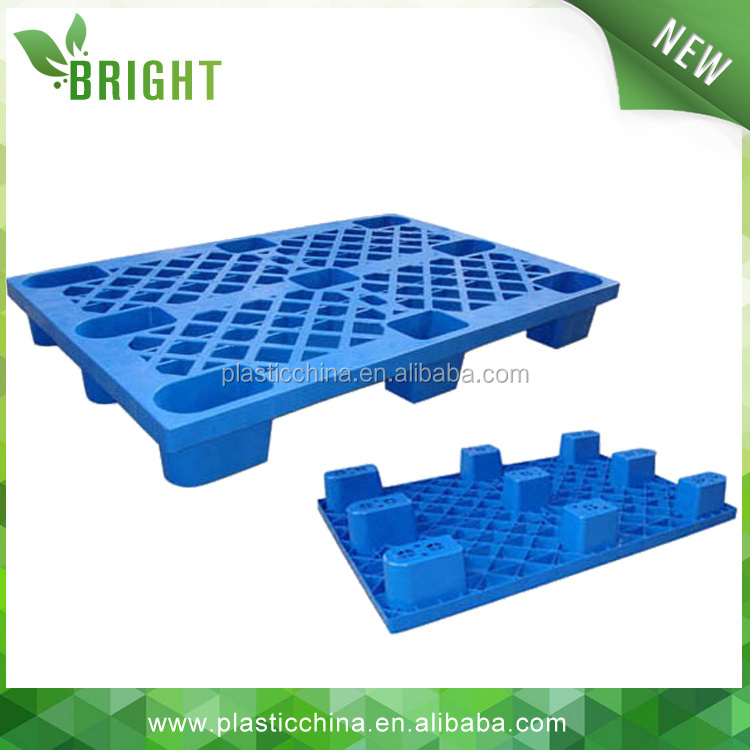Chinese supplier cheap 4 way entry pure HDPE euro plastic pallet price