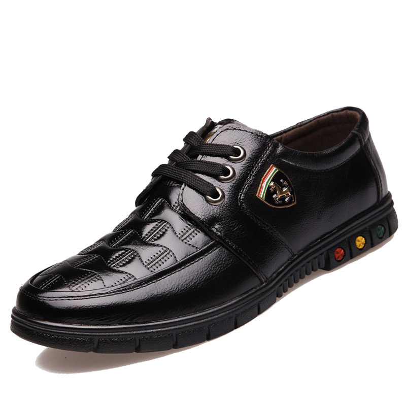 66dad4273c0 Get Quotations · 2015 Men Black Loafer Shoes classic Nubuck Leather lace-up  Loafers Vintage Style Men Driving