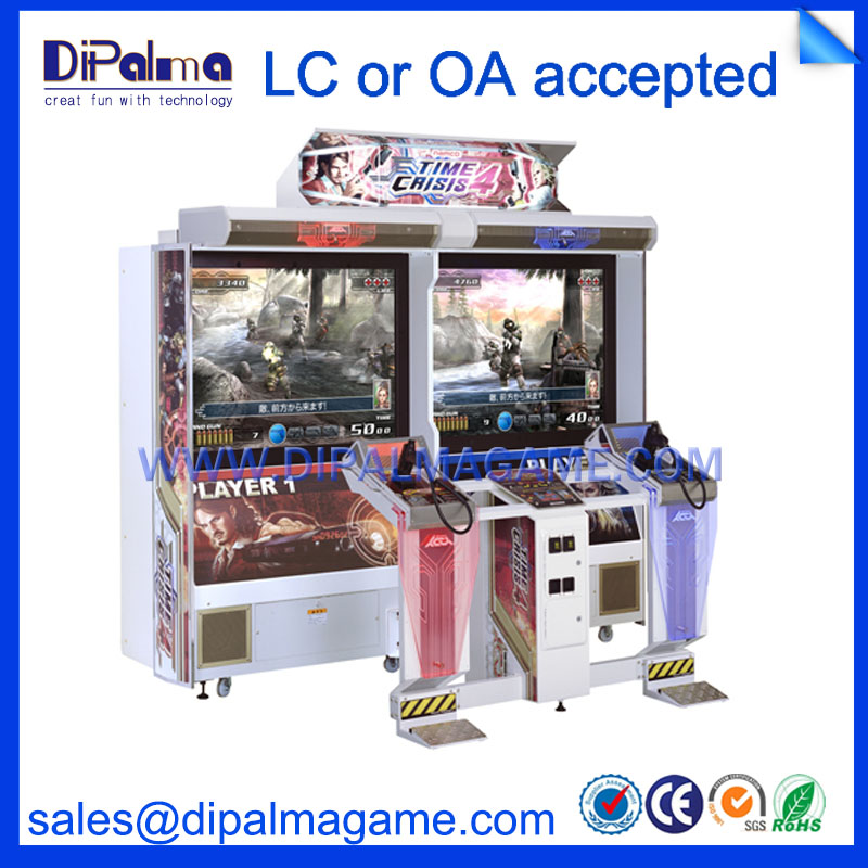 42 inch Time Crisis 4 coin operated arcade gun shooting game machine