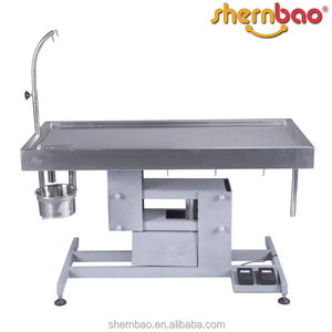 Shernbao FT-824 Series Veterinary Electric operation Table Surgical Instrument