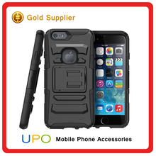 [UPO] High Quality Shockproof Heavy Duty Belt Clip PC Silicone Phone Cases for iPhone 6
