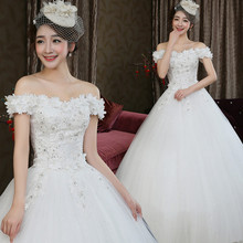 C72220A Best Selling Alibaba Ball Grown Sexy Wedding Dress