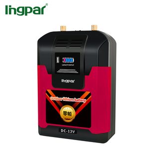 Ingpar brand newest hot 15 years lifetime deep cycle portable rechargeable lithium battery 12v 80ah