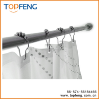 Shower Curtain Rings/Hook Hangers on Bath Rod & Curtains