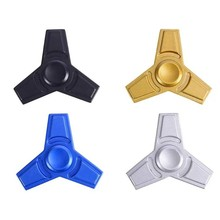 [UPO] 2017 Hot Sale High Speed ABS gold fidget fight light hand spinner metal spinner