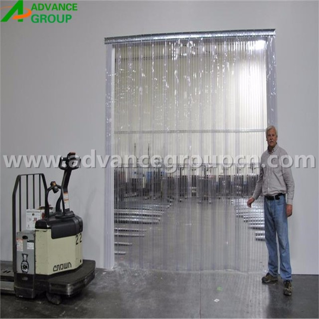 pvc partitioning inpro curtains dust vinyl walls warehouse control separation systems curtain industrial