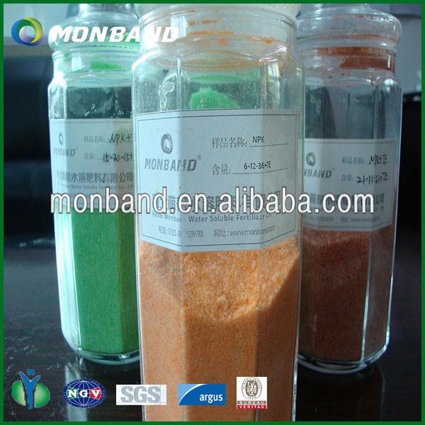 Npk Water Soluble Fertilizer (13-40-13) High Phosphorus
