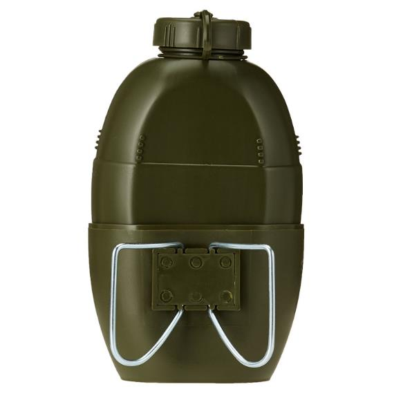 Outdoor Army Military Canteen Water Bottle Camping 1 L Container w// Strap