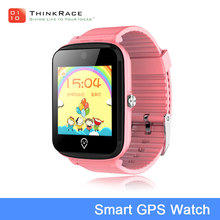 2018 new kids smart watch gps tracking pedometer heart rate monitoring smart watch phone
