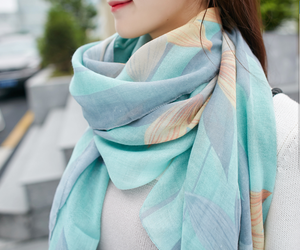 Korean Style New Fashion Stole Shawl Scarf Viscose Scarf Rayon Shawl