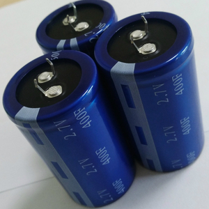 400F Farad 2.7V Electric Double Layer Capacitor Super/Ultra Capacitor