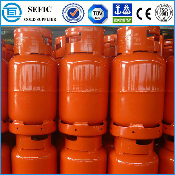 Export To South Africa High Quality LPG Cooking Composite Gas Cylinder Hot Selling Hotel Bottle With Valve