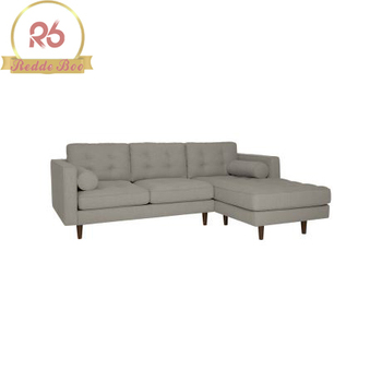 Asian Style Violino Leather Beige Used Leather Sofa