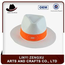 Strict quality supervision fashion paper braid custom design custom shade straw hat