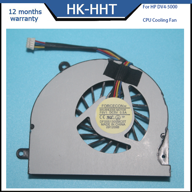 Brand new laptop internal CPU cooling fan for HP DV4-5000 CPU coolers