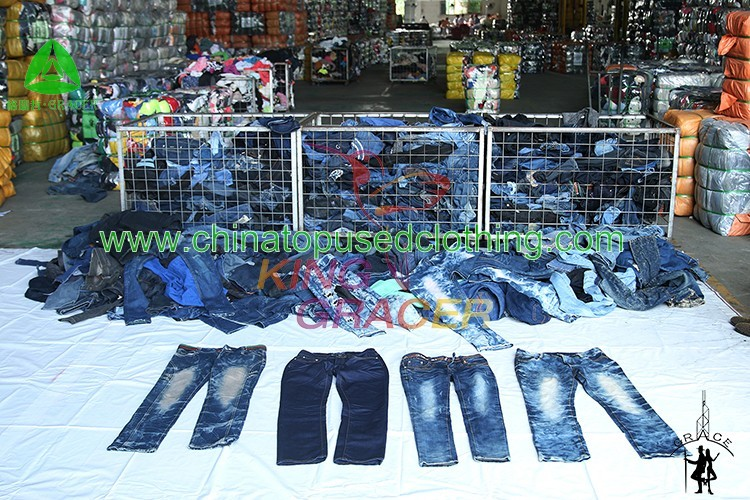 Wholesale Used Clothing In Bales Used Jeans Hot Sale In India ...