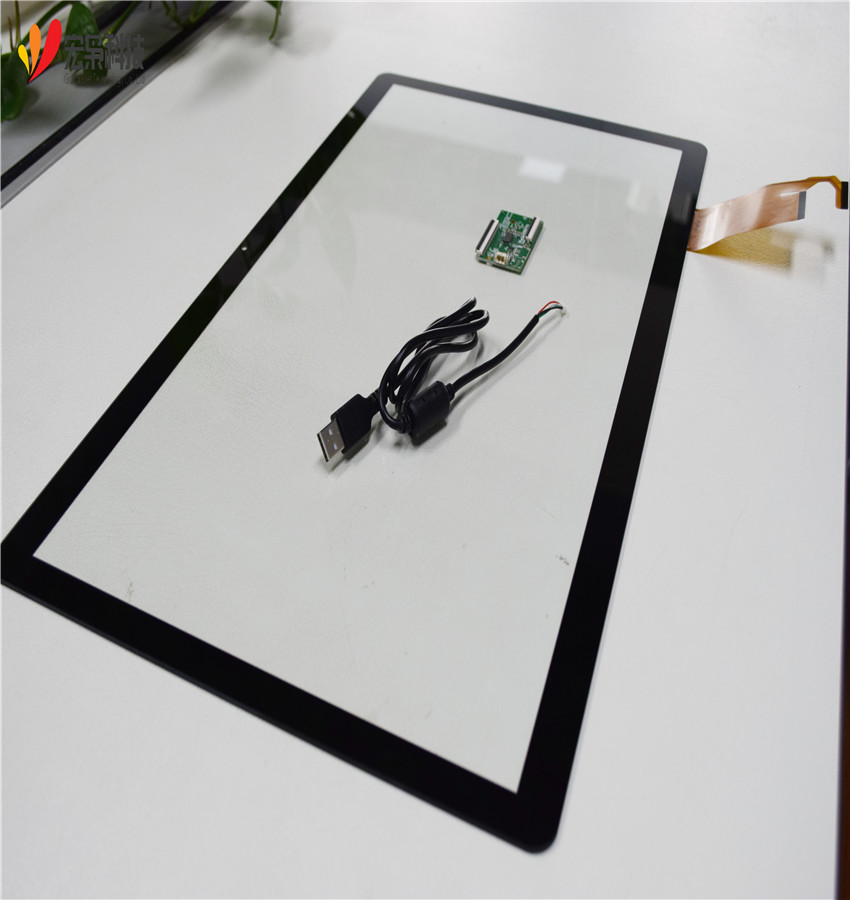 PCAP Multi Touch Film Touch Foil 21 5 inch USB type LCD Capacitive Touch  Panel