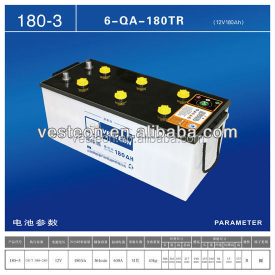 12V Good quality and Universal and New and Lowest Price Car battery 155AH