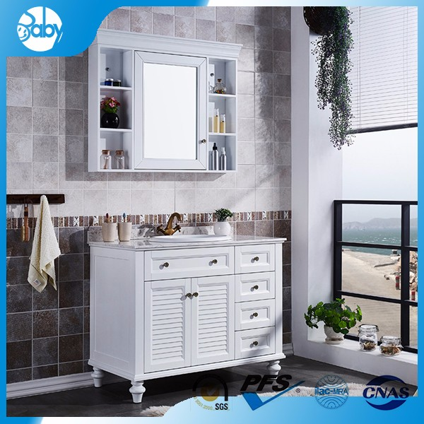 customized 60 melamine bathroom vanity manufacturer