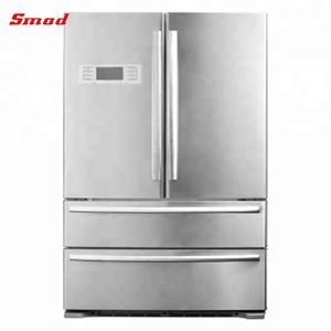 Hot Sale Side by Side French Door Refrigerator for Home