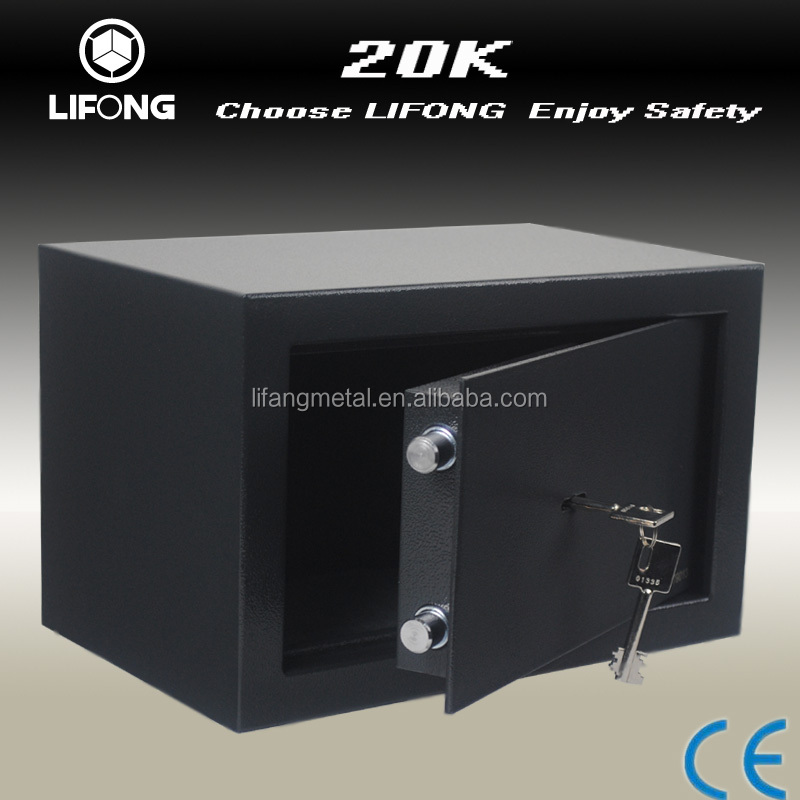 LIFONG iron safe box with small and bigger size