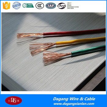 Pvc Insulated Copper Wire House Wiring Electrical CableTypes Of