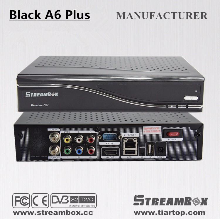 His3796 Chip (dvb-s2+t2+dvb-c) Combo Streambox A6 Plus Best Iptv ...