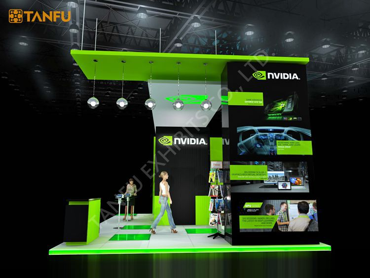 Trade Show Booth Equipment : Oder messestand ausrüstung für spiel von tanfu