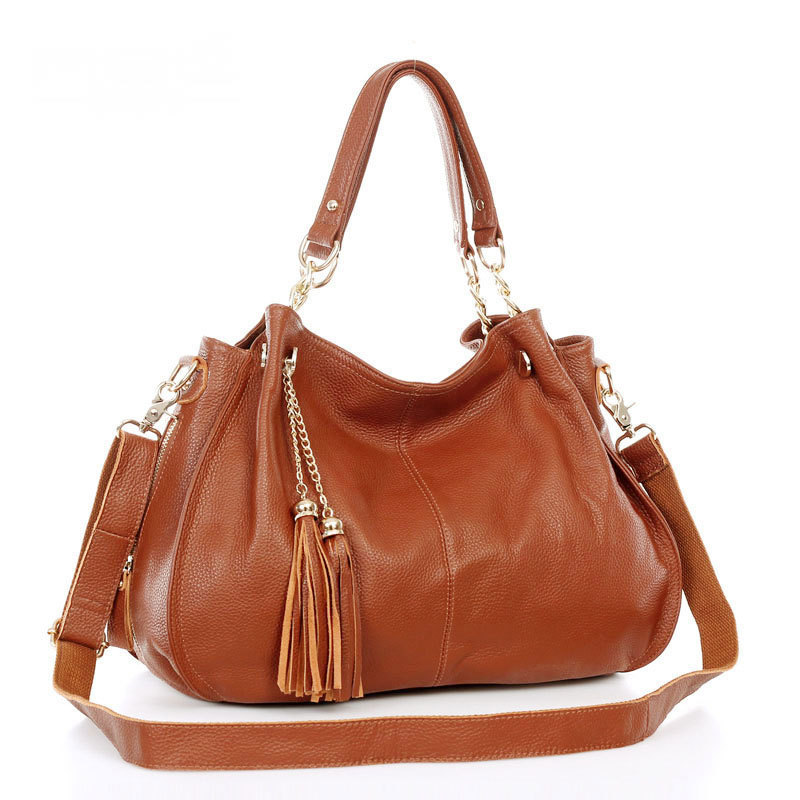 0d8d6d95ab10 Buy Women leather handbags Tassel shopping bag big bags women shoulder bags  for women handbag black tote bag ladies bolsas in Cheap Price on  m.alibaba.com