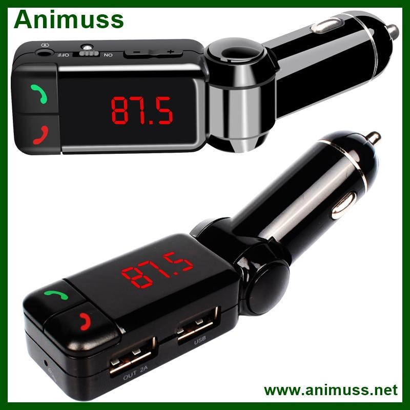 FM модулятор The Greek LAN Mp3 FM AUX USB - фото 2
