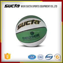 Multicolors synthetic leather cover indoor basketball balls ST1006 series
