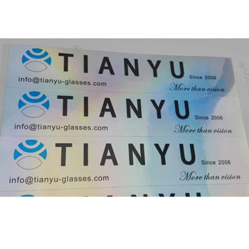 Good quality glossy chrome foil stickers,black printing adhesive metallic foil label