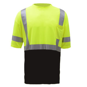 Safety Product hi vis breathable security reflective polo safety work reflective t shirt