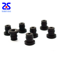 OEM customized rubber FKM products rubber feet end caps for electrical machine home appliances