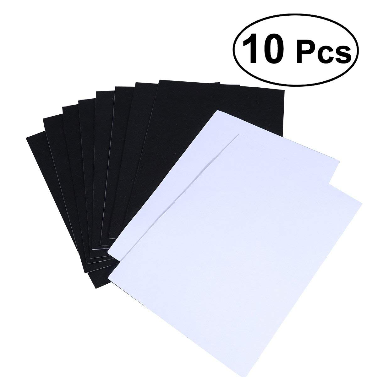 ULTNICE Craft Felt Sheets Blank Self Adhesive Felt Squares for Art Craft 10 Sheets