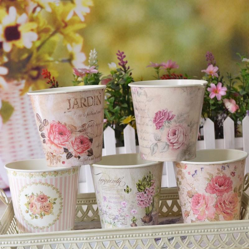 Vintage Flower Pots 8
