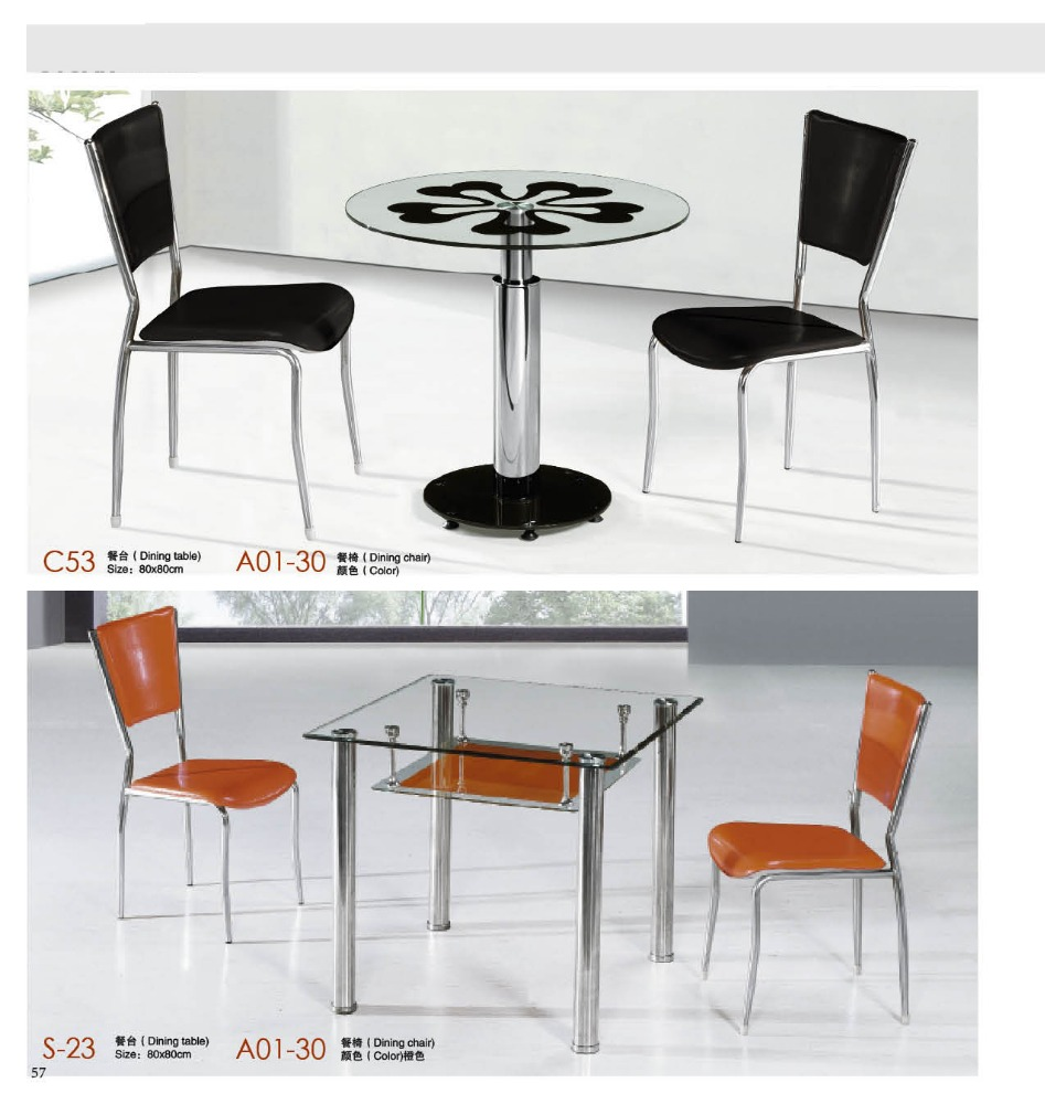 Glass Top Stainless Steel Frame Dining Table, Glass Top Stainless Steel  Frame Dining Table Suppliers And Manufacturers At Alibaba.com