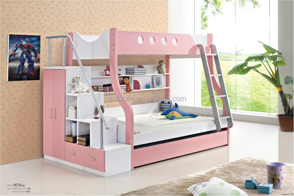 Home Furniture General Use And Children E1 Mdf Bunk Beds#802